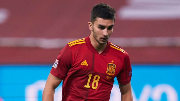 Ferran Torres could be afforded his chance on the right of a front three