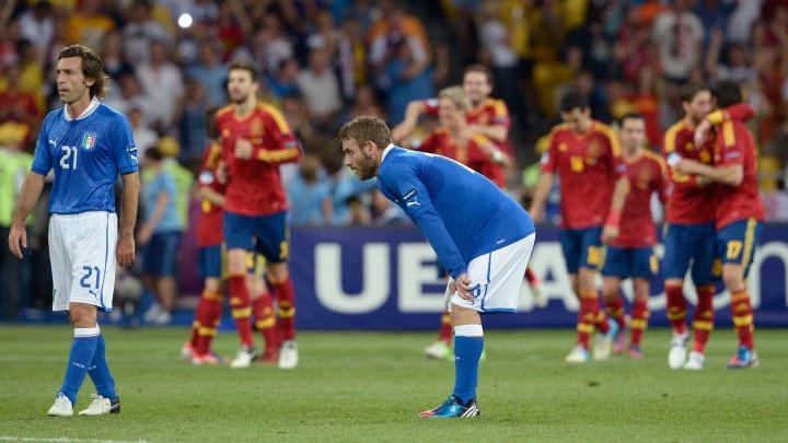 Italia se quedó con la medalla de plata en la Euro 2012