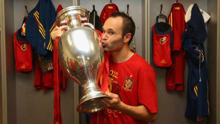 andres iniesta espanha eurocopa