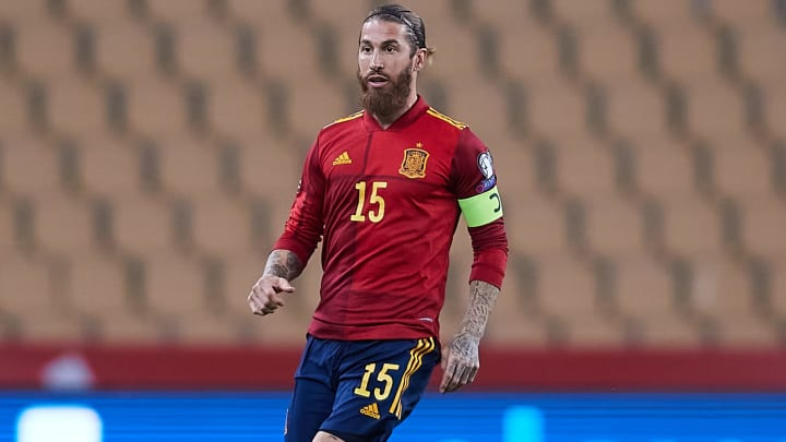 Sergio Ramos is out with another injury