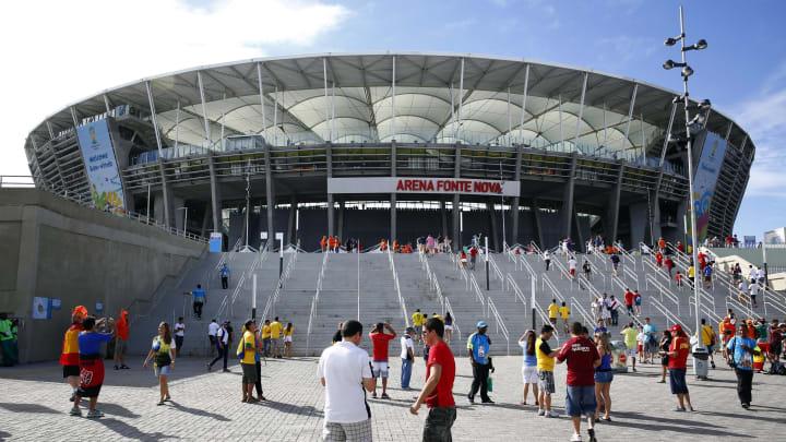 Arena Fonte Nova é um dos principais estádios da Bahia | Spain v Netherlands Group B - 2014 FIFA World Cup Brazil