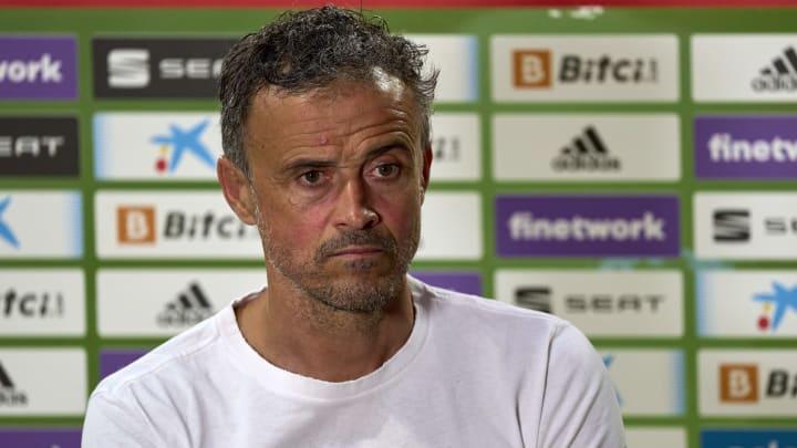 Spaniens Nationaltrainer Luis Enrique.