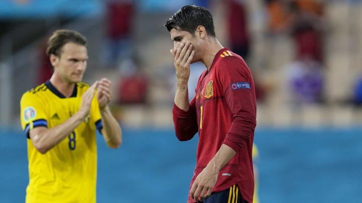 Musste sich nach dem Schweden-Spiel harte Kritik gefallen lassen: Álvaro Morata