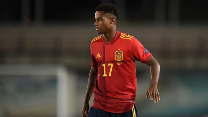 Ansu Fati Espanha Futebol Copa do Mundo