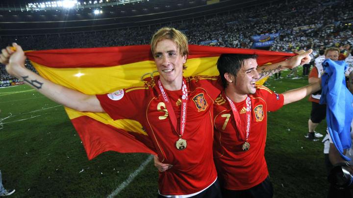 Fernando Torres, David Villa
