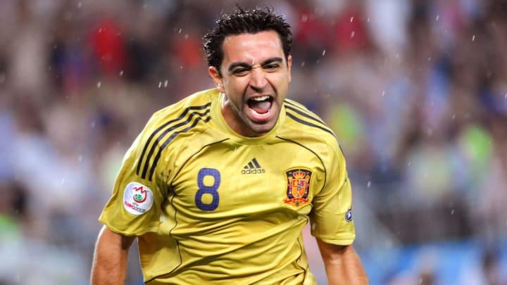 eurocopa xavi hernandez espanha
