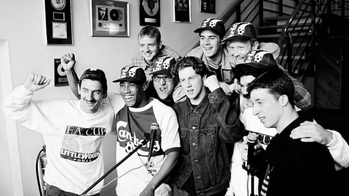 Jamie Redknapp, Mark Wright, Steve McManaman, Ian Rush, John Barnes, Robbie Fowler