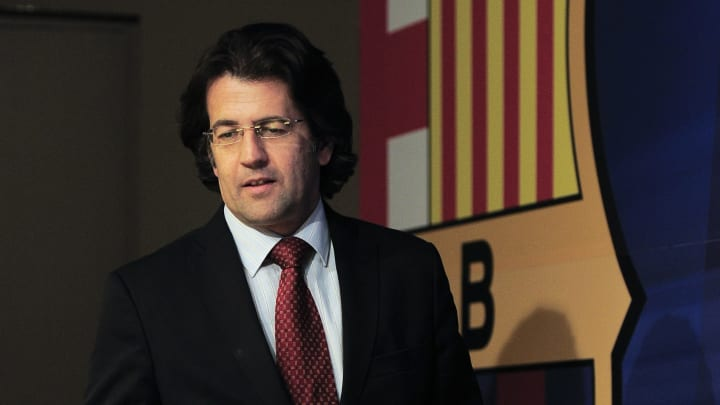 Freixa en su etapa como directivo del Barça
