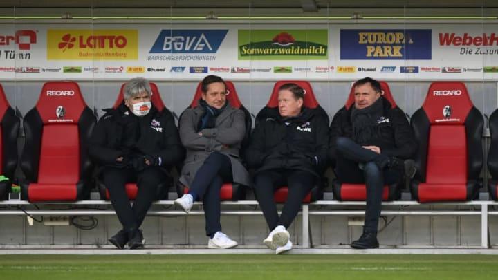 Unklar derzeit, wie lange Markus Gisdol noch Köln-Coach sein wird