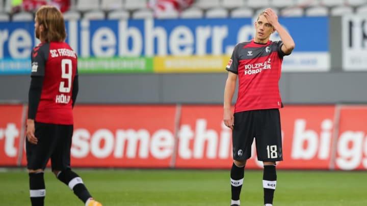 Nur ein Treffer von Petersen verhalf Freiburg zum Sieg