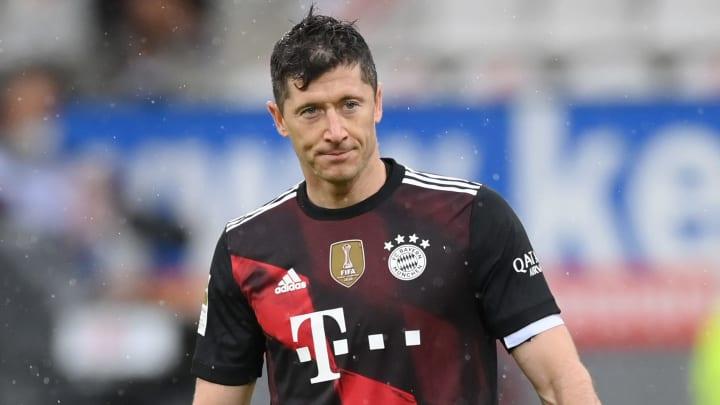Robert Lewandowski is open to leaving Bayern Munich