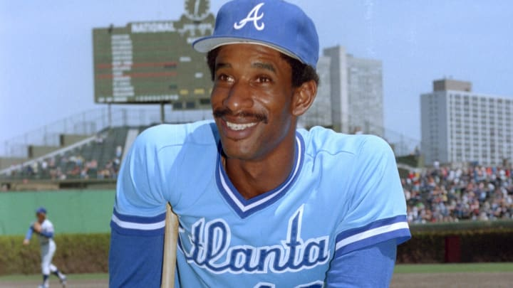 Former Atlanta Braves OF Claudell Washington