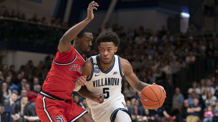 St John's vs Villanova spread, line, odds, predictions, over/under & betting insights for the college basketball game.