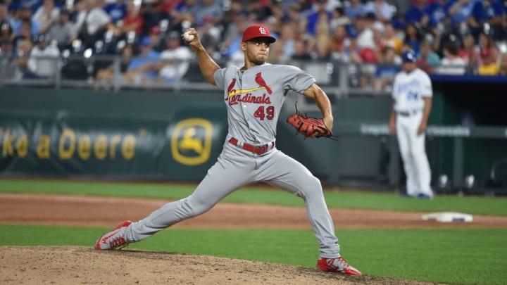 St. Louis Cardinals reliever Jordan Hicks