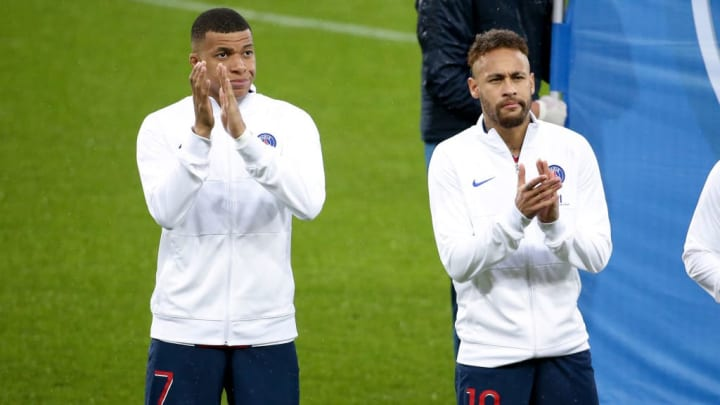 Kylian Mbappe, Neymar Jr PSG França Ligue 1