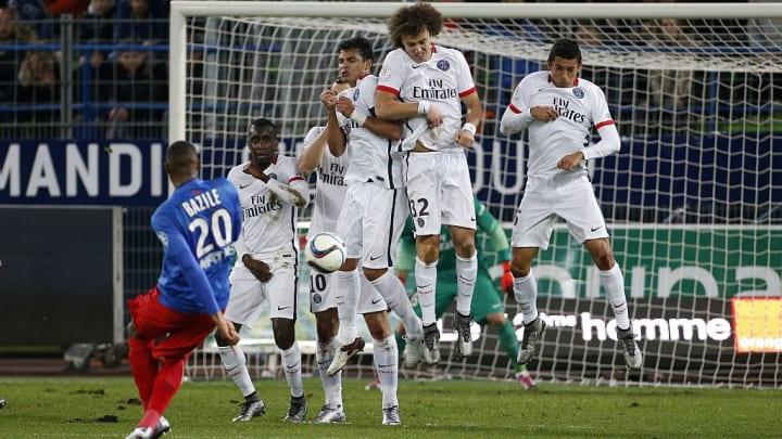 Blaise Matuidi, Thiago Silva, David Luiz, Marquinhos