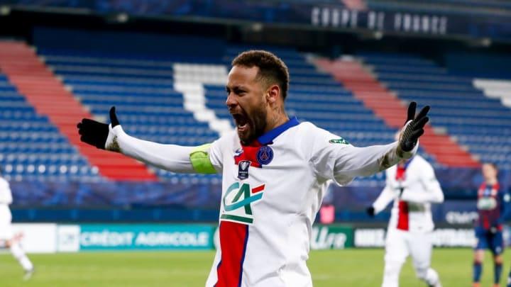 Neymar est déjà bien installé dans ce classement.