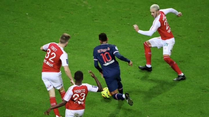 Stade Reims Paris Saint-Germain Ligue 1 Neymar