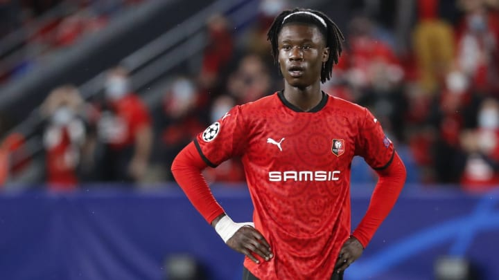 Eduardo Camavinga is happy to stay at Rennes for the foreseeable future