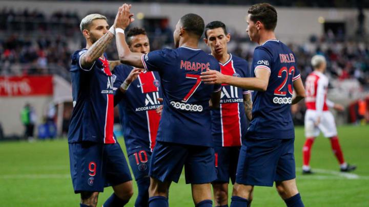 Mauro Icardi, Kylian Mbappe, Julian Draxler, Angel Di Maria, Neymar Jr
