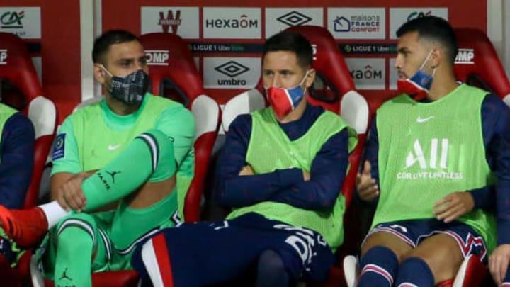 Neymar Jr, Gianluigi Donnarumma, Lionel Messi, Leo Messi, Leandro Paredes, Ander Herrera