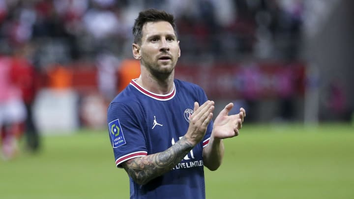 Lionel Messi hat sein Debüt für PSG gegeben