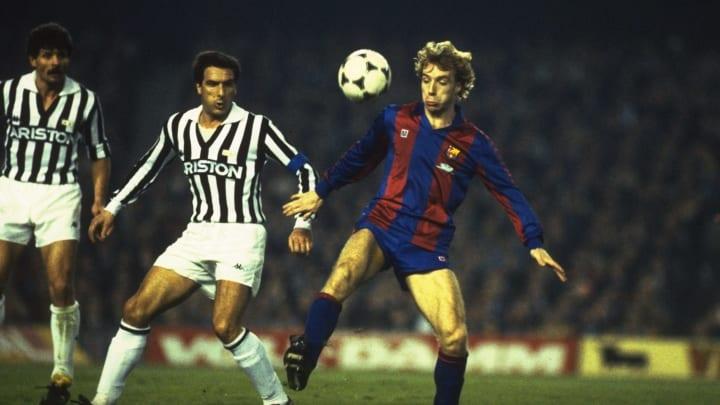 Steve Archibald of Barcelona