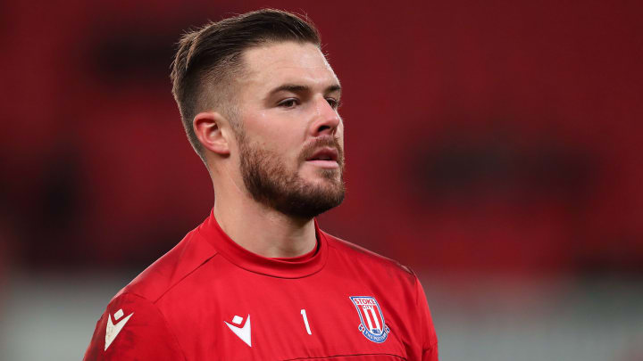 Jack Butland failed to earn a move away from Stoke when they were relegated from the Premier League