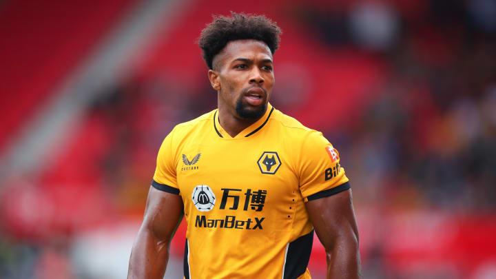 Adama Traoré sous le maillot de Wolverhampton.