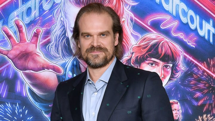 David Harbour shares his phone number and asks fans to text him in Instagram post.