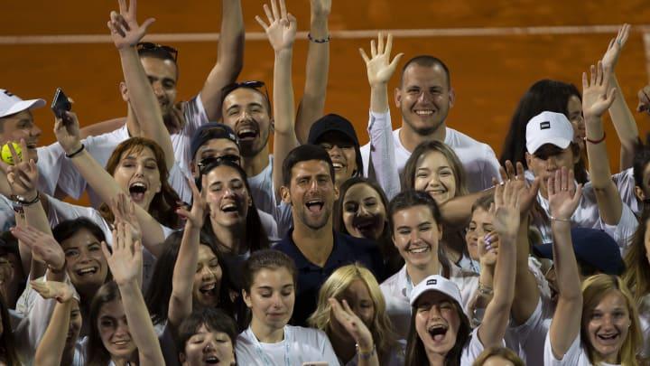 Novak Djokovic, The Person in Middle of These Photos, Has Coronavirus