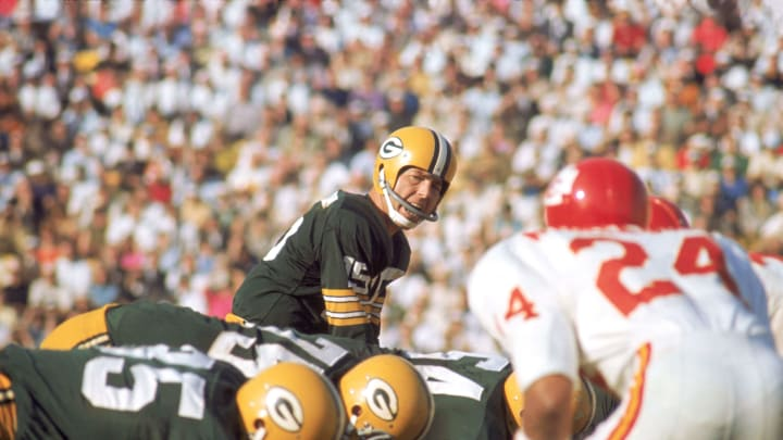 Super Bowl I featured a matchup between the Kansas City Chiefs and Green Bay Packers.