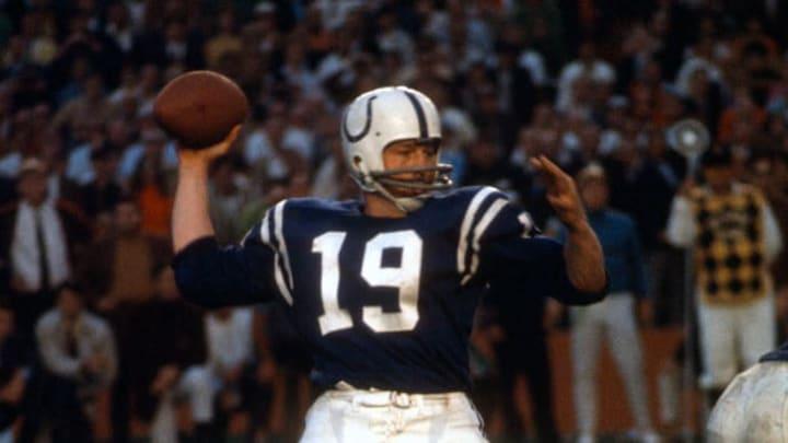 Unitas es una de las máximas leyendas en la historia de la NFL