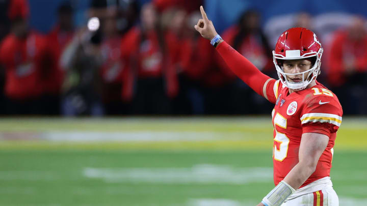 Patrick Mahomes is No. 1 in September.