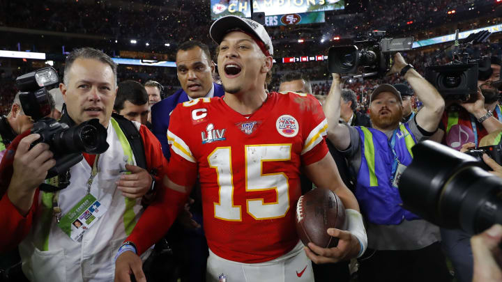 Patrick Mahomes named Super Bowl LIV MVP.