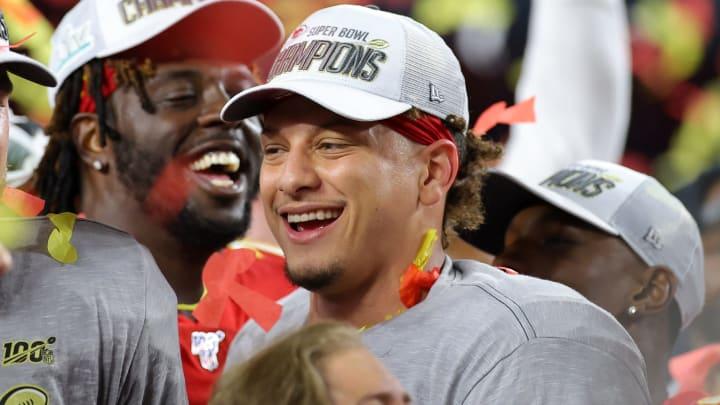 2021 NFL MVP odds favor Super Bowl MVP Patrick Mahomes.