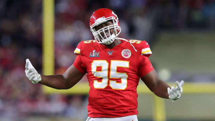 Kansas City Chiefs defensive tackle Chris Jones