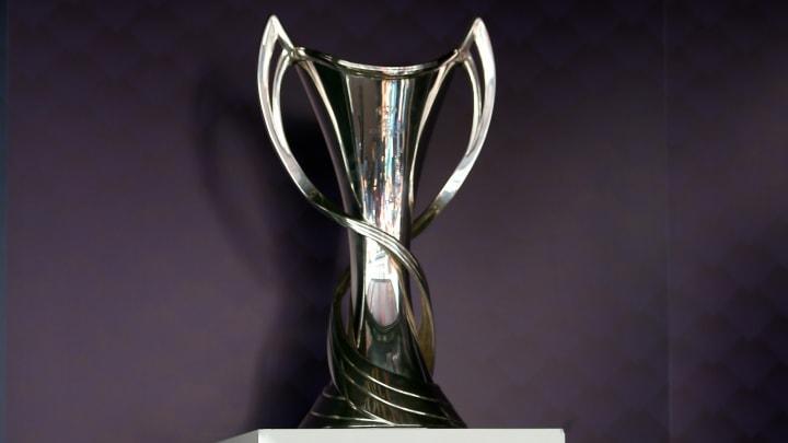 Die Trophäe der Frauen-Champions-League
