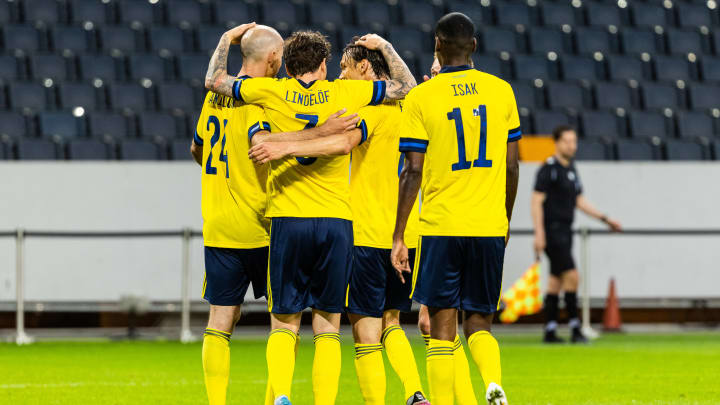 Sweden will be hoping to cause an upset