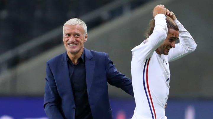 Didier Deschamps admire le professionnalisme d'Antoine Griezmann.