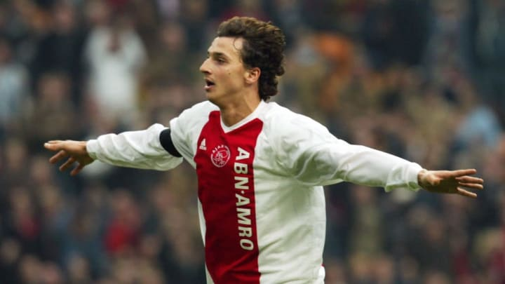 Swedish forward Zlatan Ibrahimovic of Aj