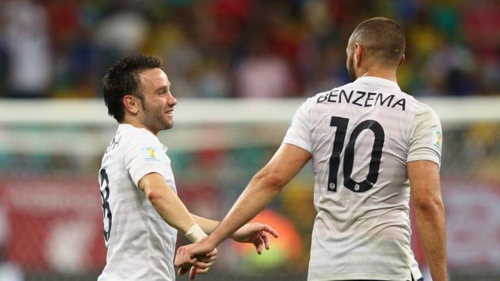 Mathieu Valbuena, Karim Benzema Real Madrid França