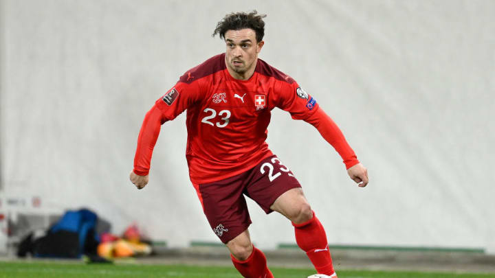 Xherdan Shaqiri of Switzerland