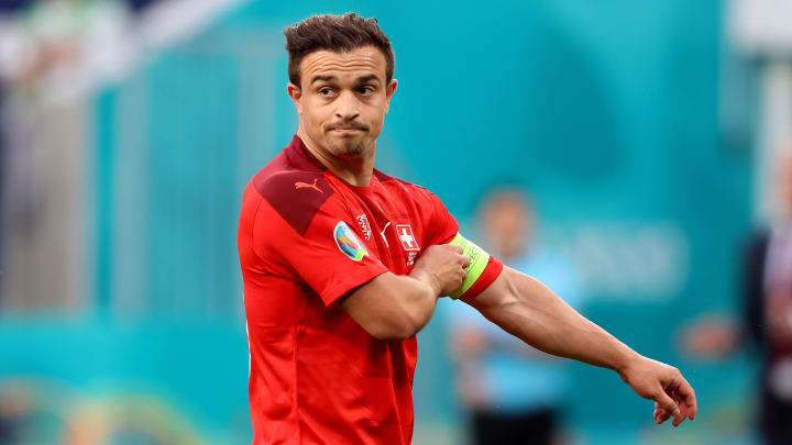 Shaqiri is set to leave Liverpool this summer