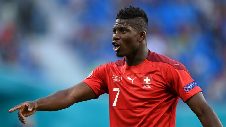 Embolo represented Switzerland at Euro 2020