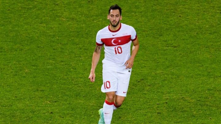Hakan Calhanoglu Inter de Milão Turquia Eurocopa