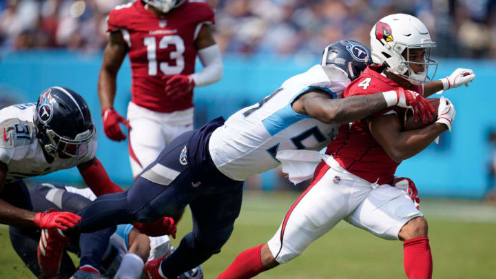 The Cardinals offense had its way with the Titans defense up until the fourth quarter. | Andrew Nelles / Tennessean.com via Imagn