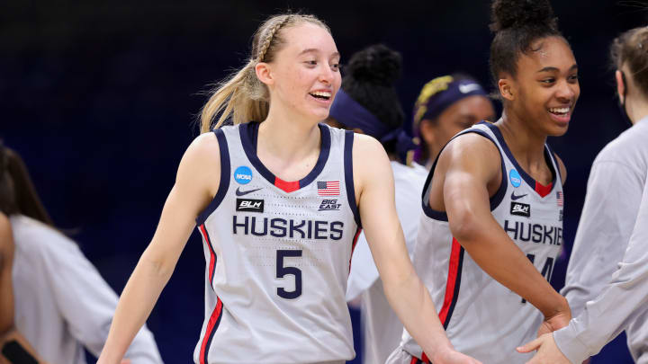 Iowa vs UConn prediction and women's college basketball pick straight up for Saturday's NCAAW Tournament game between IOWA vs CONN.