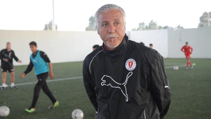Nasser Larguet le responsable du centre de formation de l'OM.