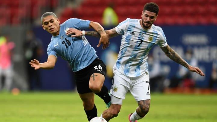 Rodrigo De Paul Argentina Copa América